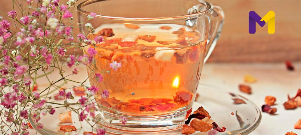 chá diurético para desinchar