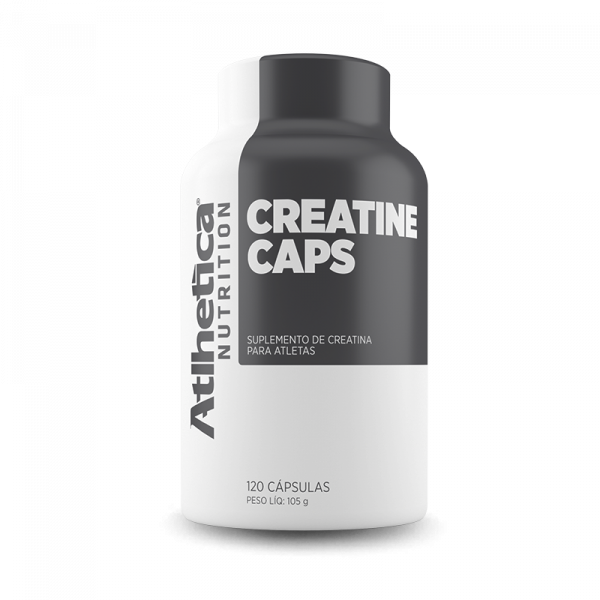 Creatina 120 CAPS Atlhetica Nutrition