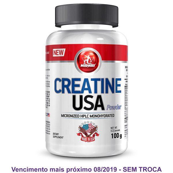 Creatina Monohidratada e Micronizada 100g