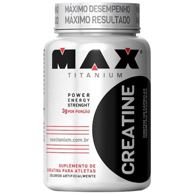 Creatina Max Titanium 120 Caps